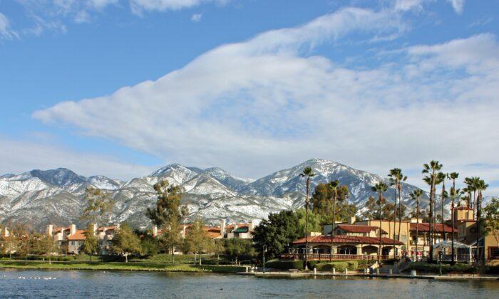 A file photo of Lago Santa Margarita in Rancho Santa Margarita, Calif. (Wikimedia Commons)