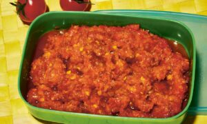 Tomato Sambal (Sambal Tomat)