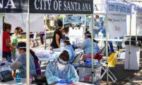Community Meeting in Santa Ana Held to Curb Virus Spread