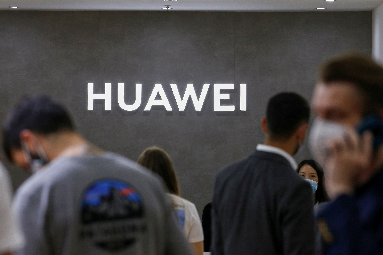 The Huawei logo