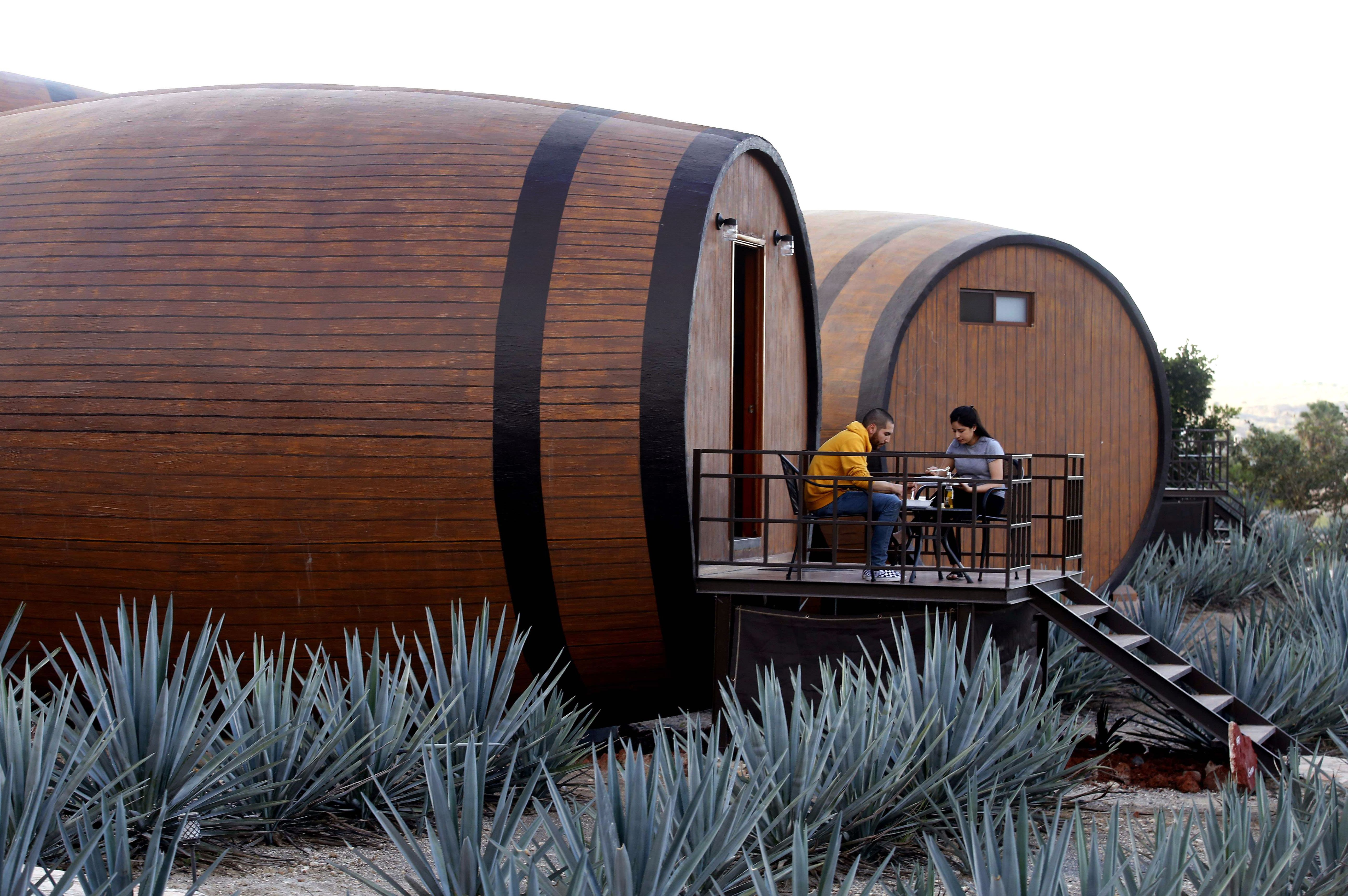 MEXICO-TOURISM-TEQUILA-HOTEL