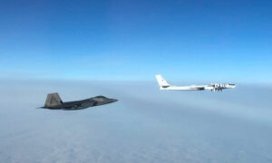 US Fighter Jets Intercept 4 Russian Warplanes Near Alaska
