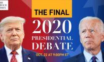 Programming Alert: Final 2020 Presidential Debate Between Trump and Biden