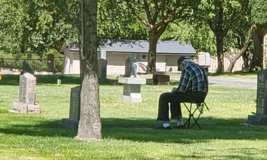 Man Approaches Lonely Veteran by Late Wife's Grave: 'There a Great Number of People That Care'