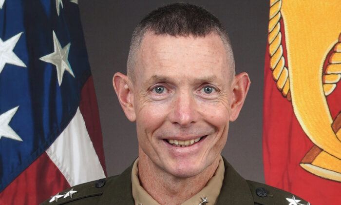 Major General Stephen M. Neary in an undated photo. (US Marine Corps)