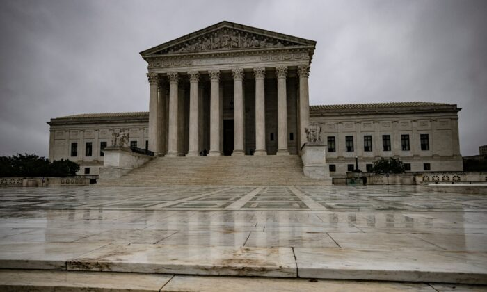 The Supreme Court in Washington, on Oct. 12, 2020. (Samuel Corum/Getty Images)