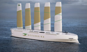 New High-Tech Cargo Ship From Sweden Will Be the World's Tallest Wind-Powered Vessel