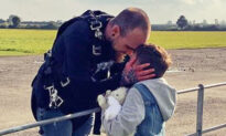 Dad Jumps Out of a Plane for Terminally Ill Stepson Despite a Crippling Fear of Heights