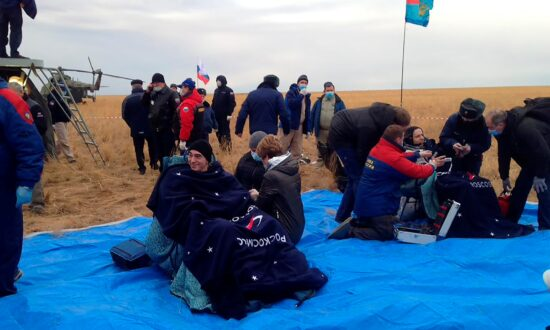Trio Who Lived on Space Station Return to Earth Safely