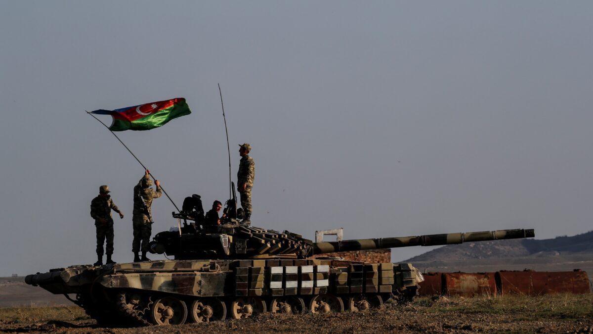 Azerbaijani soldiers