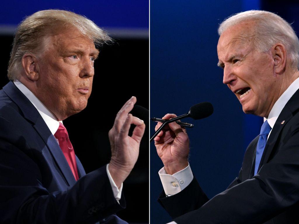 Donald Trump And Joe Biden Participate Final Debate Before Presidential Election