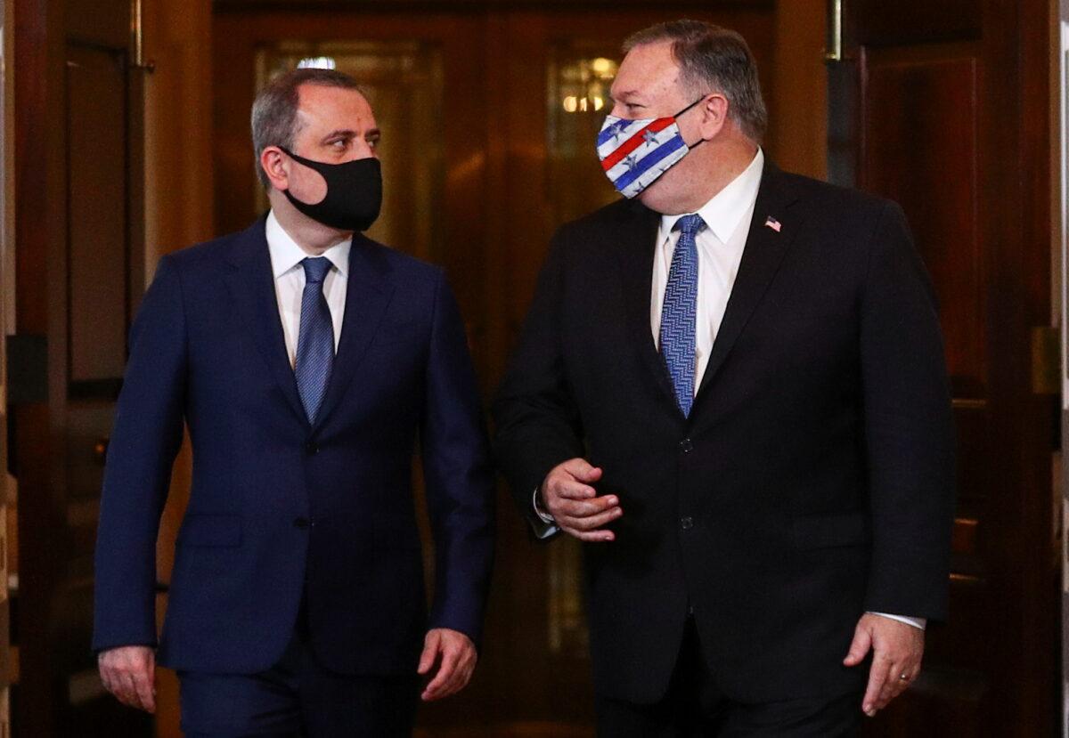 Pompeo & Jeyhun Bayramov