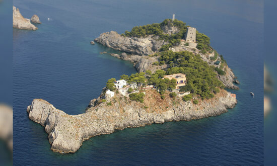 This Incredible Italian Island Is Shaped Just Like a Dolphin