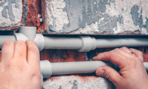 Lower-Cost Plastic Plumbing Is Easy to Use