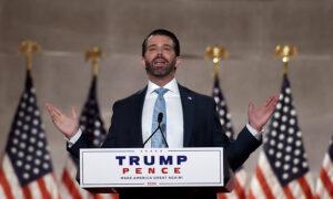 Trump Jr. Visits Atlanta to Get Red Votes