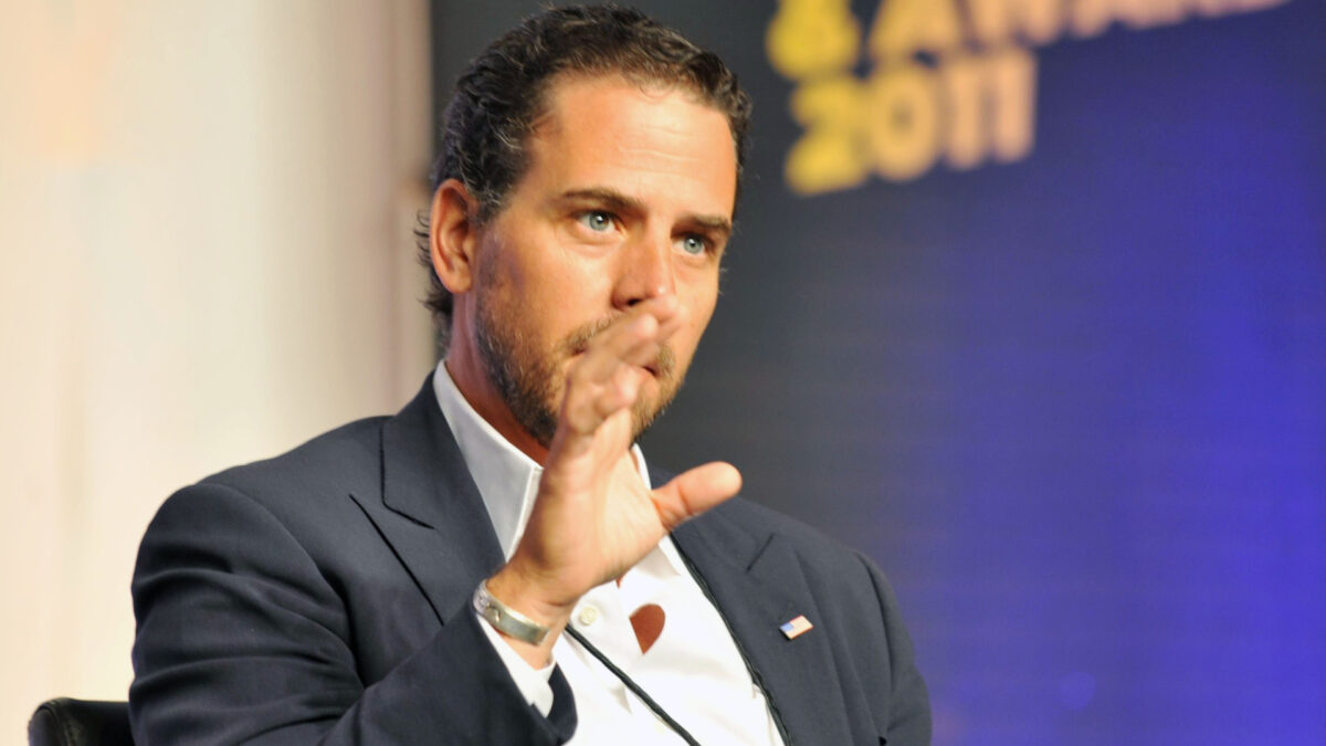 Hunter Biden attends Usher's New Look Foundation