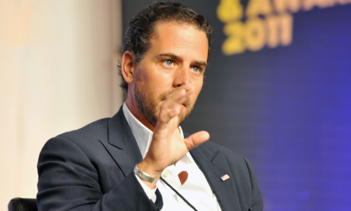 Hunter Biden attends a conference at Cobb Energy Center in Atlanta, Ga. on July 22, 2011. (Moses Robinson/Getty Images for Usher's New Look Foundation)