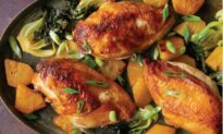 Mom's Soy Sauce Chicken With Pineapple and Bok Choy