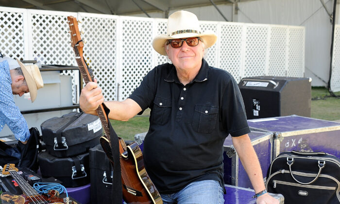 Musician Jerry Jeff Walker poses backstage during day two of California's Stagecoach Country Music Festival held at the Empire Polo Club in Indio, Calif., on April 26, 2009. (Frazer Harrison/Getty Images)