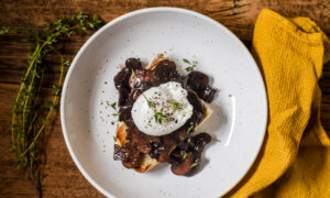 From Burgundy, Famed for Red Wine, a Luxurious Treatment for Humble Eggs on Toast