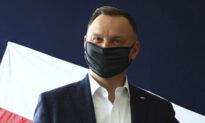 Poland's President Has Coronavirus, Apologizes to Contacts