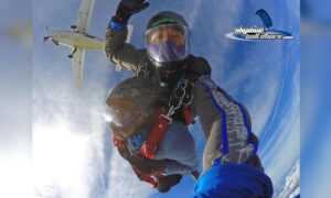 WWII Veteran Ticks Off Epic Bucket List Item on 102nd Birthday: a Skydive From 10,000 Feet