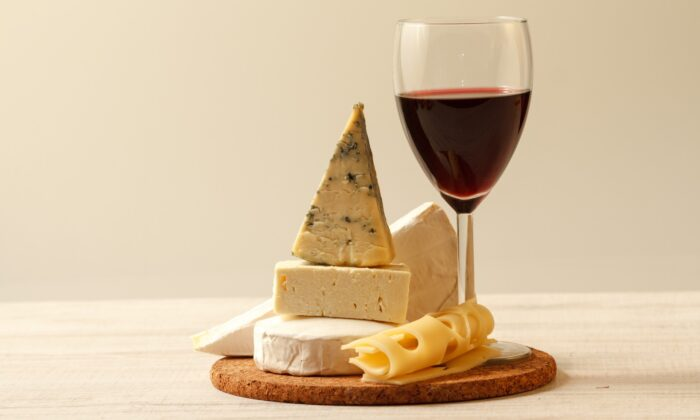 Wine loves cheese, and cheese loves wine. (Nadki/Shutterstock)