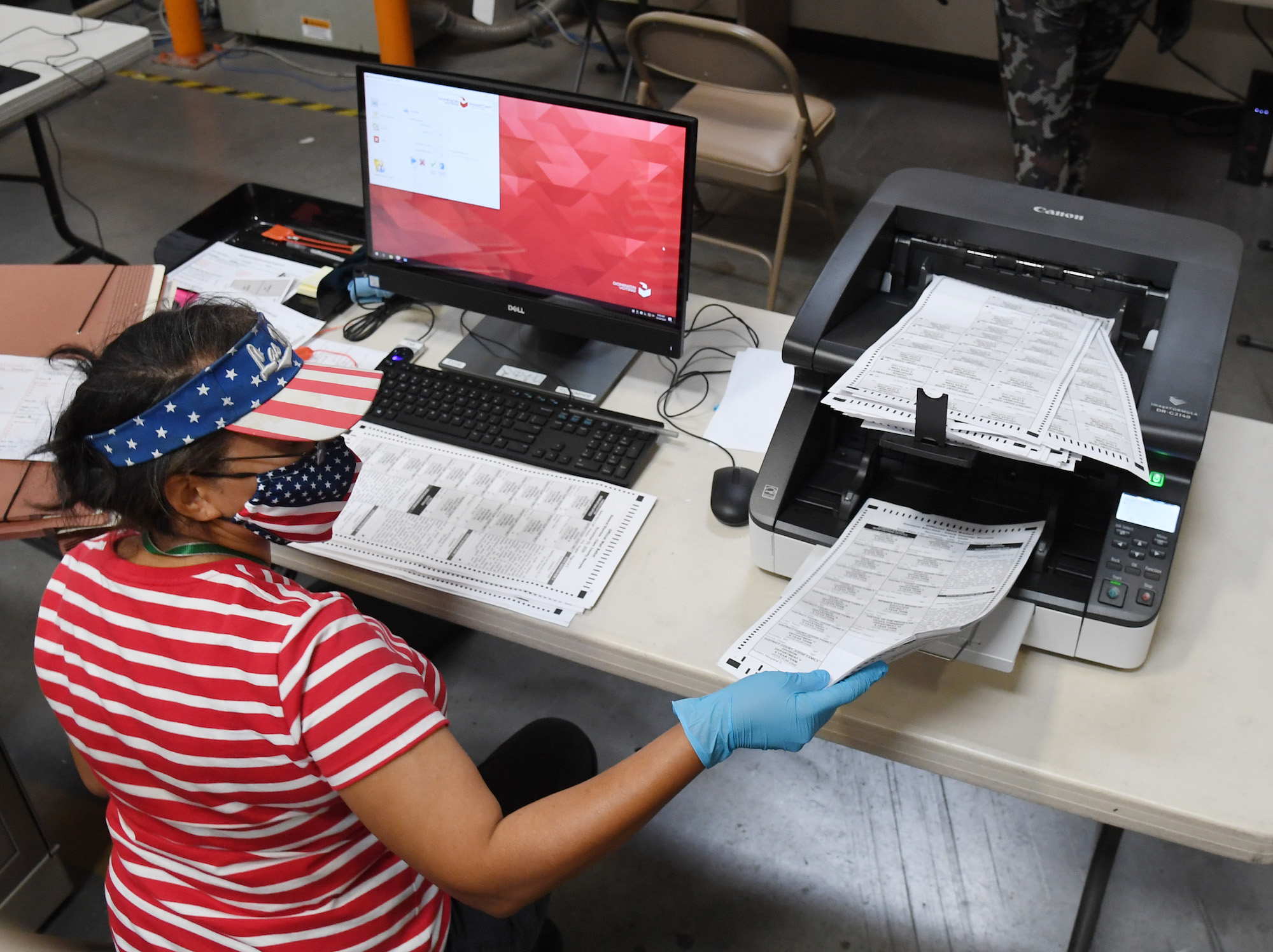 Ballot Counting Begins In Nevada