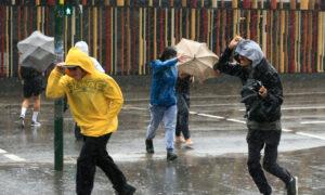 Rain and Wind Lash NSW as Temperature Drops