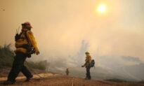 Silverado Fire in Irvine More Than Half Contained