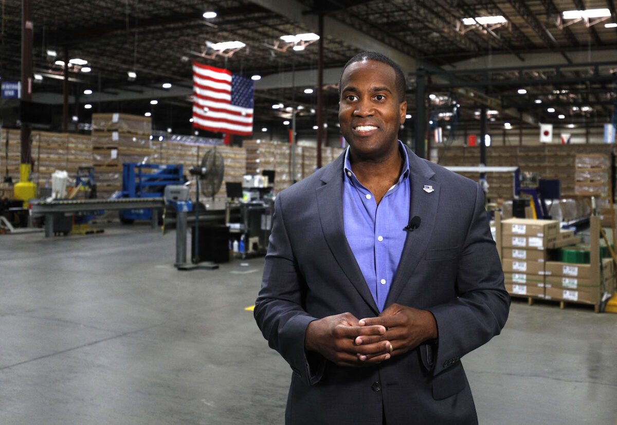 GOP Senate Candidate John James