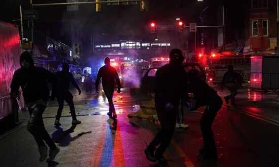 30 Officers Injured During Riots in Philadelphia Following Death of Man Armed With Knife