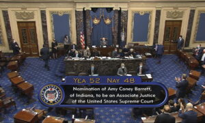 Republicans Celebrate Supreme Court Confirmation as Democrats Plan Ahead