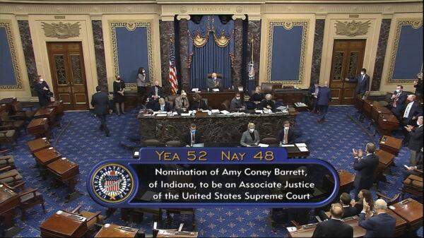 senate vote barrett confirmation