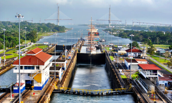 The Panama Canal. (marriedwanderlust/Shutterstock)