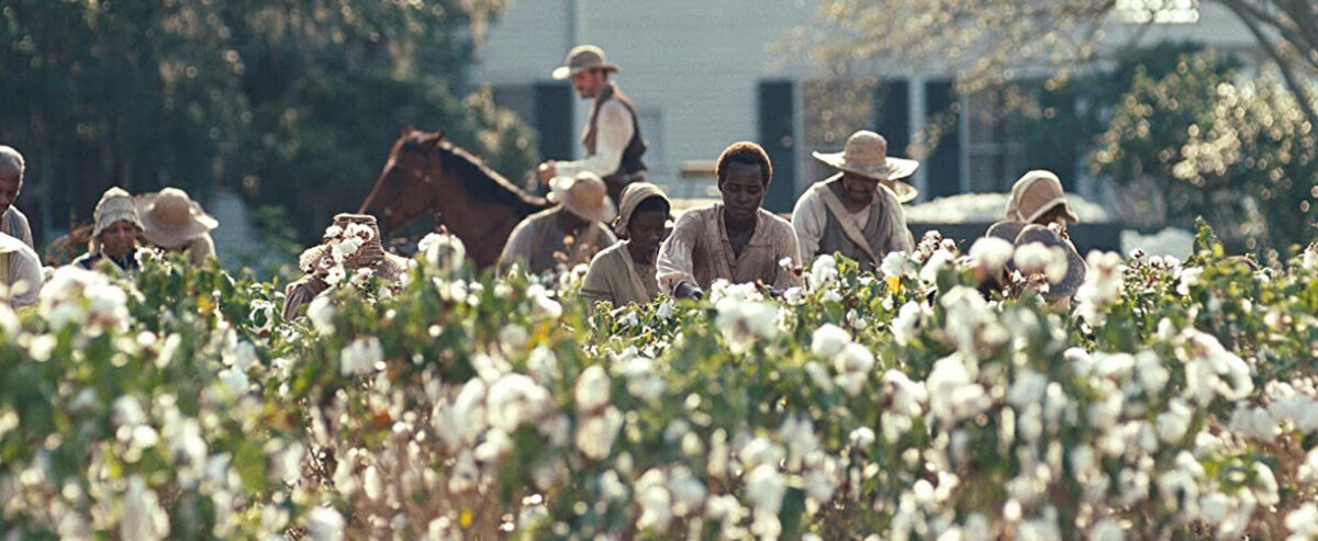 "slaves picking cotton in ""12 Years a Slave"""