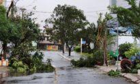 Strong Typhoon Slams Vietnam; at Least 2 Dead, 26 Missing