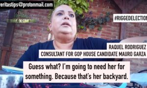 Operative Caught on Camera Appears to List Prices for Vote Manipulation Schemes in Texas