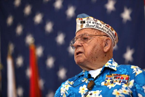 Pearl Harbor survivor Mickey Ganitch