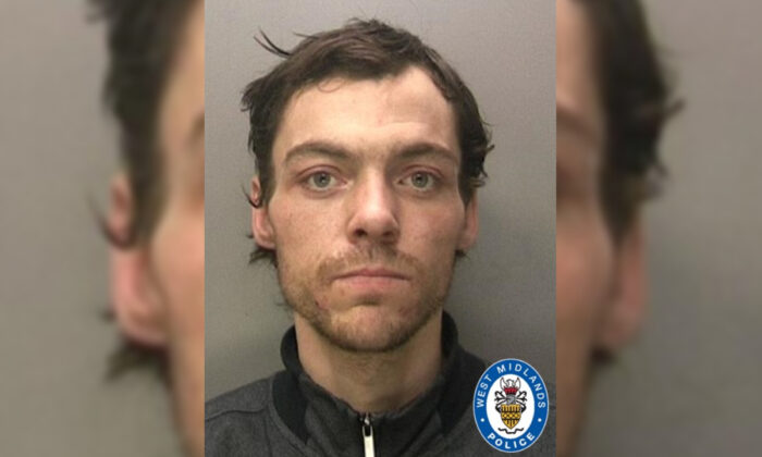 File photo of Anthony Russell, released by the West Midland Police on Oct. 29, 2020. (The West Midland Police)