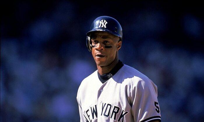 Darryl Strawberry as a New York Yankee. (Courtesy of Darryl Strawberry)