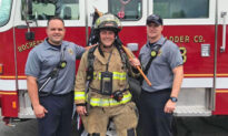 Michigan Fireman Completes 140-Mile Walk to Raise Funds for Firefighters Battling Cancer