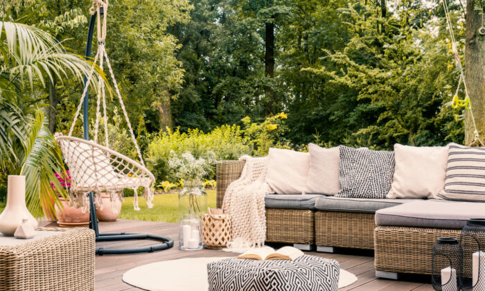 These crafted furnishings can bring a relaxed sense of luxury to any patio or interior.  (Photographee.eu/Shutterstock)