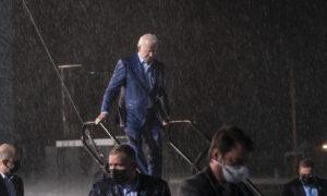 Bad Weather Stops Biden and Trump Rallies