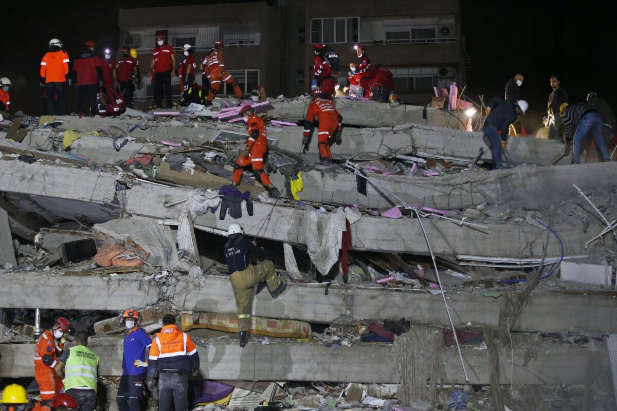 Earthquake Turkey Greece - 2