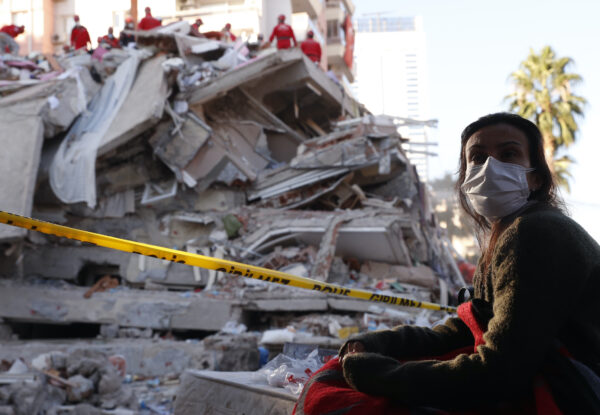 APTOPIX Turkey Earthquake