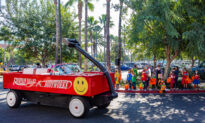 Hospital's Trick-or-Treat Parade Leaves Kids Smiling in Fountain Valley