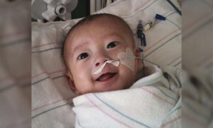 Premature Baby Has Heart Failure, Survives Open-Heart Surgery at 2 Months Old