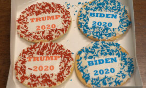 Political Cookies Predict Election Outcome