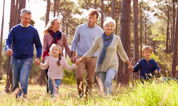 Grandparents bring great benefit to families raising children in intergenerational homes. (Monkey Business Images/Shutterstock)